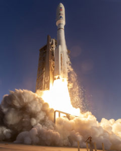 ULA's Atlas V rocket launching the Perseverance rover